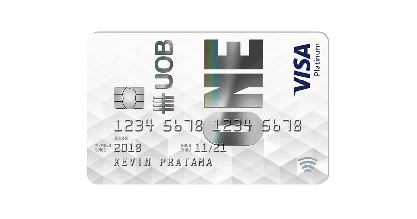 UOB One Card - 8 Kartu Kredit Cashback Terbaik