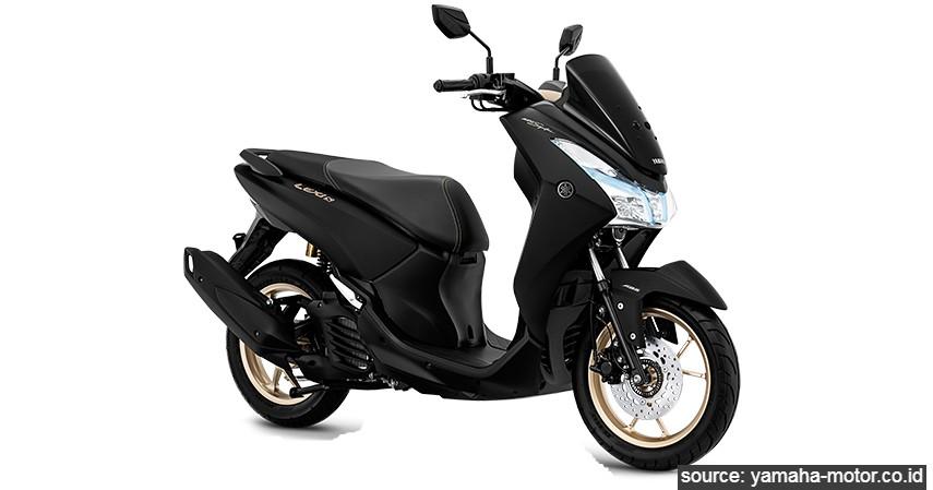 Yamaha Lexi S-ABS - Daftar Motor Berfitur Smart Key di Indonesia