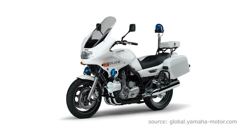 Yamaha XJ900P - Jenis Moge Polisi Indonesia
