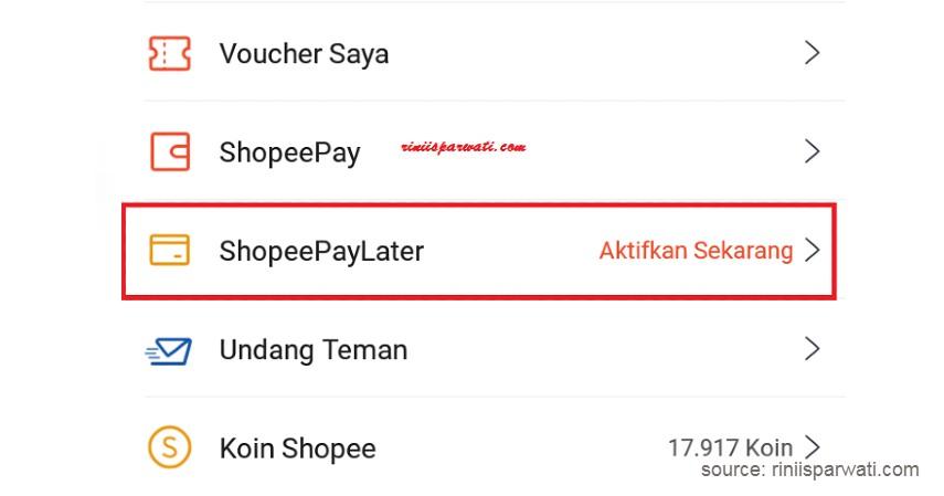 kode OTP Shopee PayLater - Cara Aktifkan Shopee PayLater
