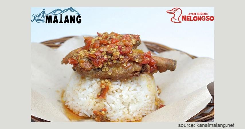 Ayam Goreng Nelongso - Kuliner di Malang untuk Sahur