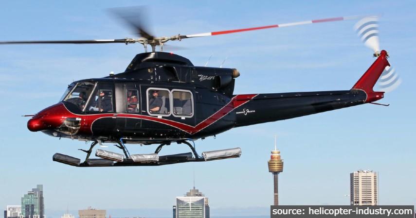 BELL-412 EPI - 9 Pesawat Buatan Indonesia Terbaik
