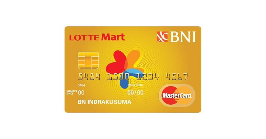 BNI Lottemart Card - 7 Kartu Kredit Terbaik untuk Belanja Keperluan Ramadhan
