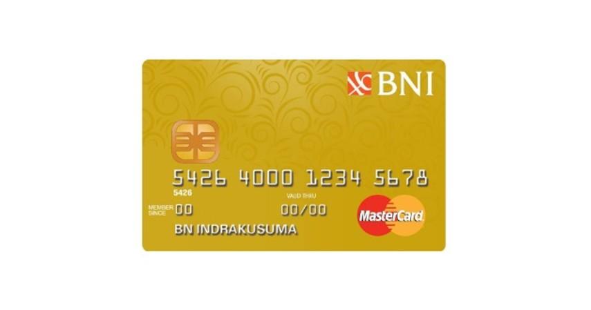 BNI Mastercard Gold - 4 Kartu Kredit Terbaik untuk PNS