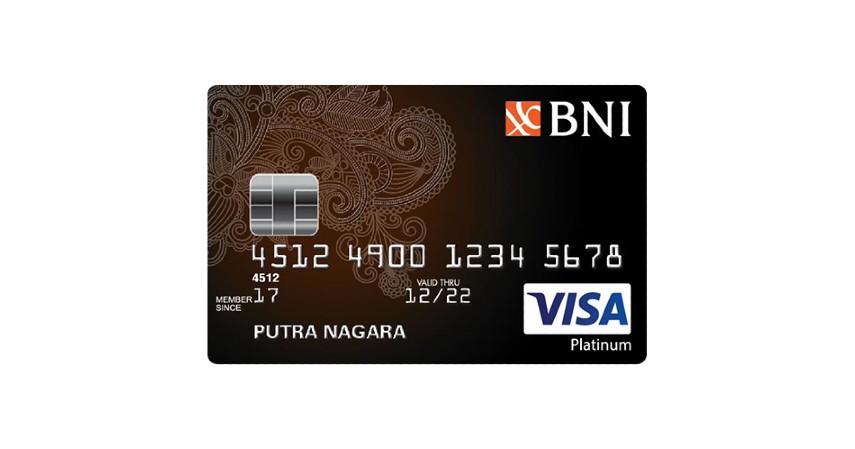 BNI VISA Platinum - Kartu Kredit dengan Cicilan 0 Persen