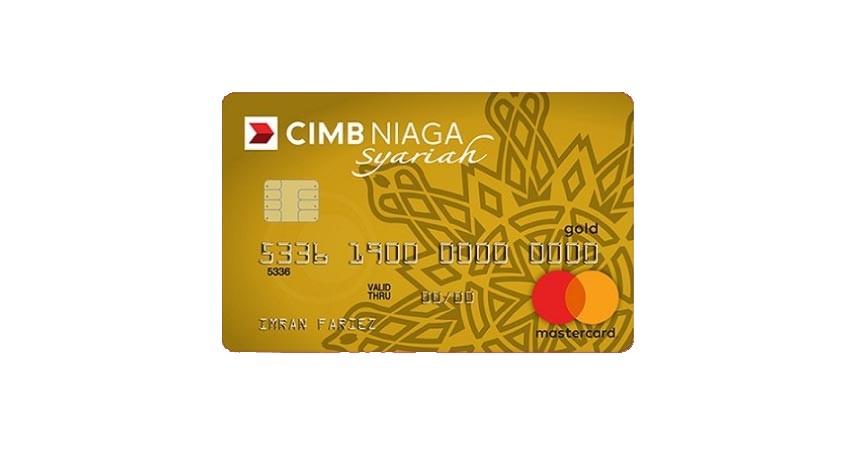 CIMB Niaga Mastercard Syariah Gold - Ini Biaya Tahunan dan Admin Kartu Kredit CIMB Niaga 2021 Terlengkap