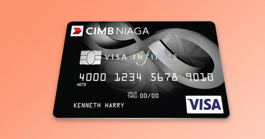 CIMB Niaga Visa Infinite - Daftar Kartu Kredit Terbaik untuk Staycation di Hotel Berbintang