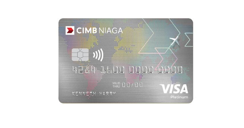 CIMB Niaga Visa Travel Card - Kartu Kredit dengan Cicilan 0 Persen