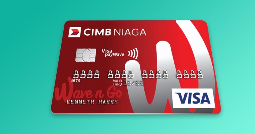 CIMB Niaga Wave n Go Card - Kartu Kredit dengan Cicilan 0 Persen