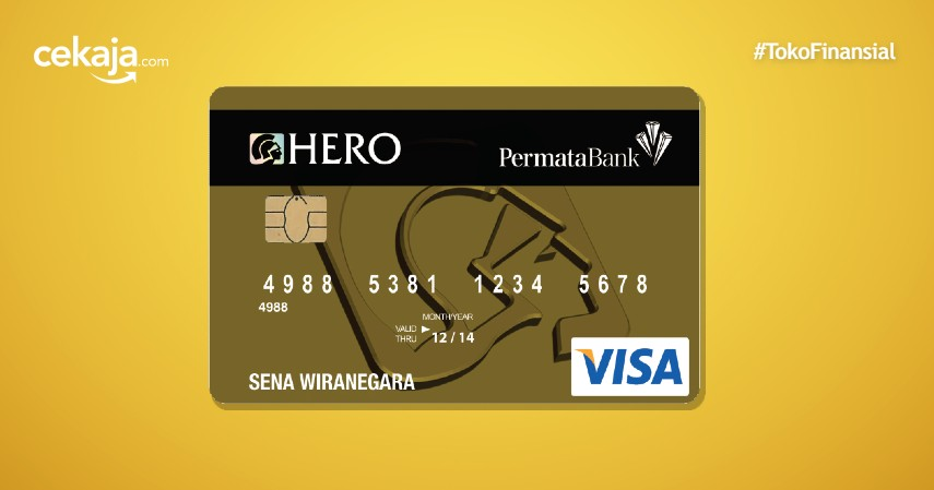 Cara Apply Kartu Kredit Permata Hero Card Melalui CekAja
