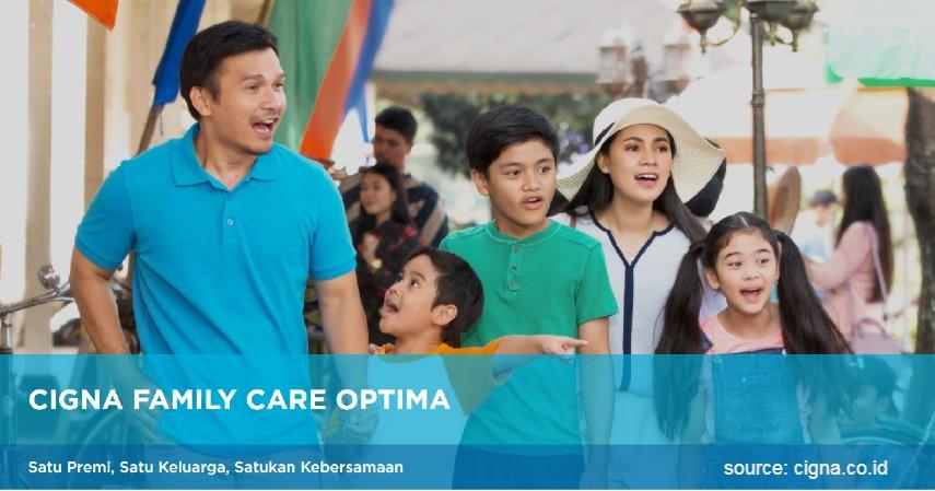 Cigna Family Care Optima - Asuransi Kesehatan dari Cigna