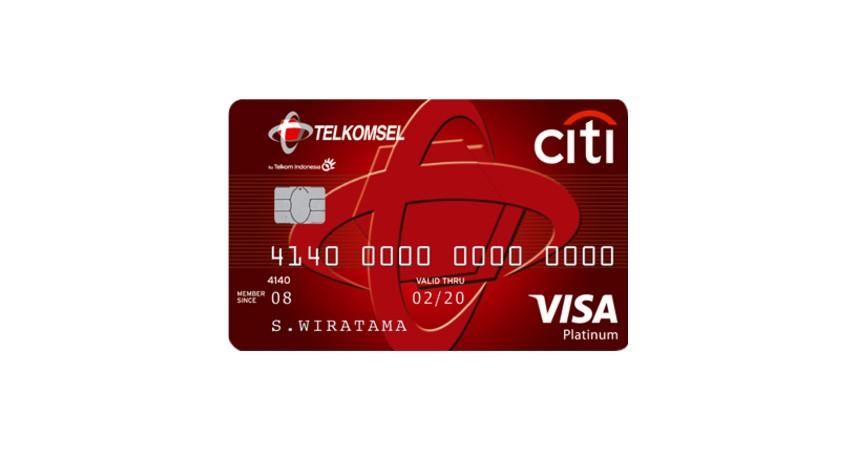 Citi Telkomsel Card - Kartu Kredit dengan Cicilan 0 Persen