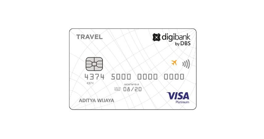 Digibank Travel Visa Platinum - 2 Pilihan Kartu Kredit Digibank untuk Travel