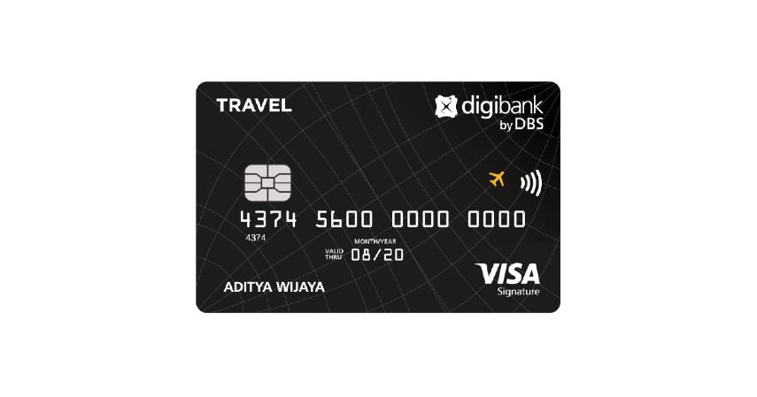 Digibank Travel Visa Signature - 2 Pilihan Kartu Kredit Digibank untuk Travel