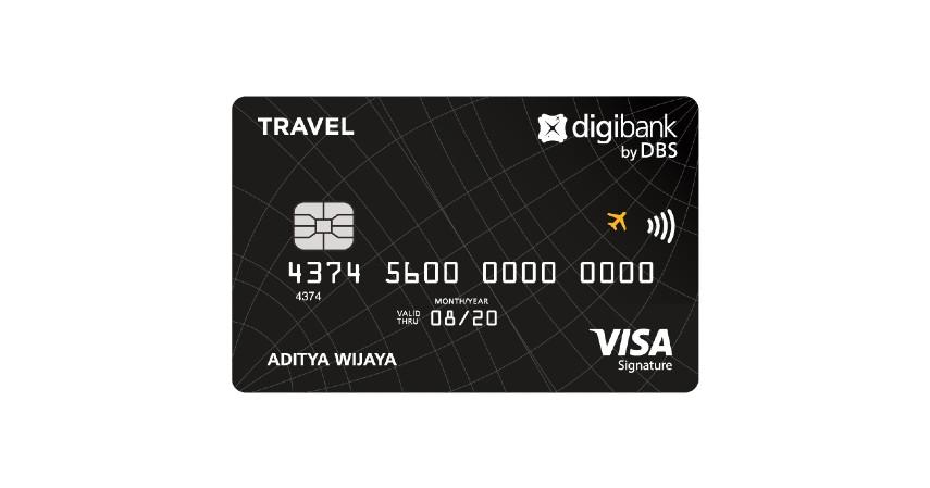 Digibank Visa Travel Signature - 4 Kartu Kredit Terbaik untuk Mengumpulkan Miles