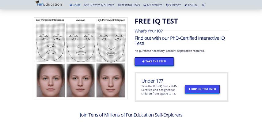 FunEducation - 10 Situs Tes IQ Online Gratis dan Resmi yang Wajib Dicoba