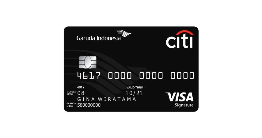 Garuda Indonesia Citi Card - 4 Kartu Kredit Terbaik untuk Mengumpulkan Miles