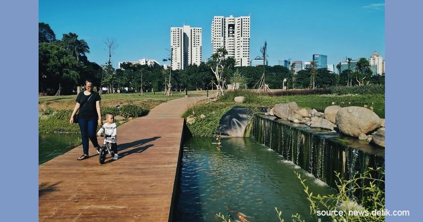 Hutan Kota GBK - Tempat Ngabuburit Gratis di Jakarta
