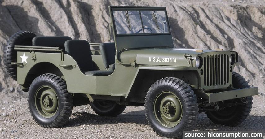 Jeep Willys - 10 Daftar Mobil Klasik Terpopuler di Indonesia