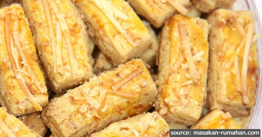 Kastengel Kue Kering Keju - Jenis-jenis Kue Lebaran Paling Direkomendasikan dan Paling Laku