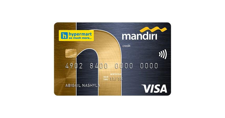 Mandiri Co Brand Hypermart - 7 Kartu Kredit Terbaik untuk Belanja Keperluan Ramadhan
