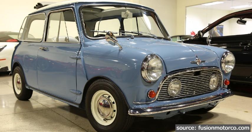 Mini Morris - 10 Daftar Mobil Klasik Terpopuler di Indonesia