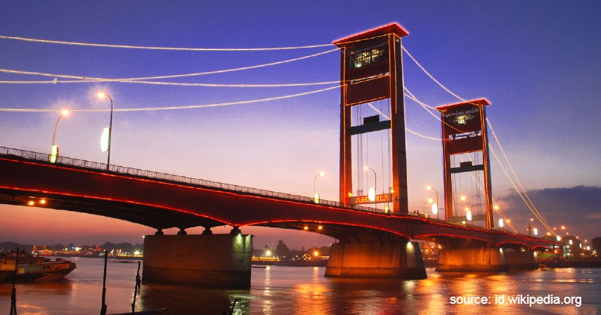 Palembang - Kota Tertua di Indonesia