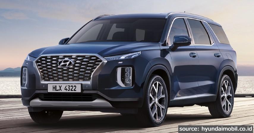 Palisade - 6 Jenis Mobil Hyundai di Indonesia Terbaru 2021 Beserta Daftar Harganya