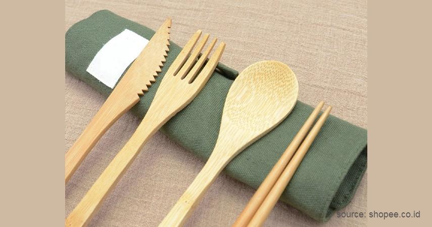 Peralatan Makan - Peluang Bisnis Kerajinan Bambu