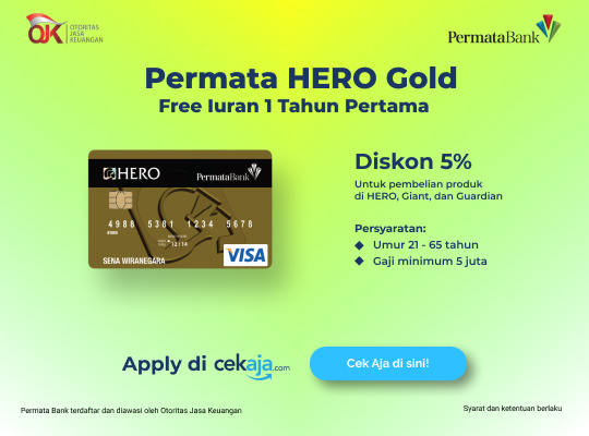 kartu kredit Permata Hero Gold