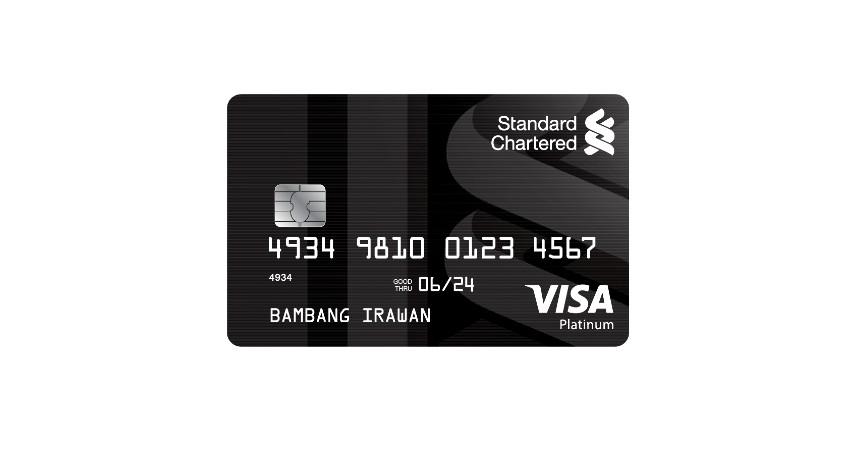 Standard Chartered Visa Platinum - Kartu Kredit dengan Cicilan 0 Persen