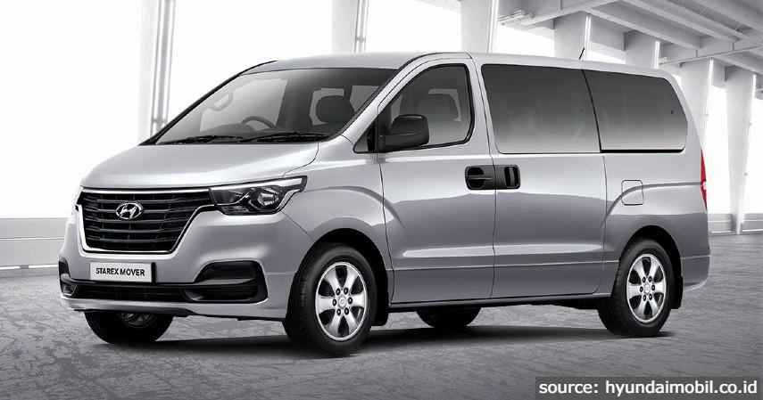 Starex Mover - 6 Jenis Mobil Hyundai di Indonesia Terbaru 2021 Beserta Daftar Harganya