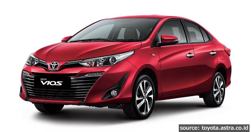 Toyota Vios - Mobil Terlaris Di Indonesia Setelah Ada PPnBM