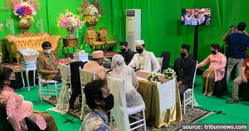 Virtual Wedding Green Screen - 3 Ide Resepsi Pernikahan Ketika Pandemi