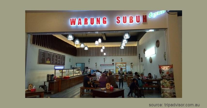Warung Subuh - Kuliner di Malang untuk Sahur