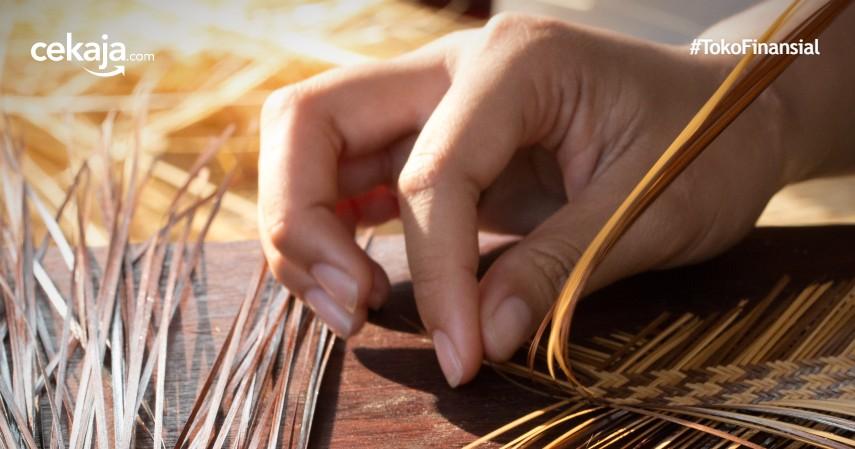Peluang Bisnis Kerajinan Bambu dengan KTA Amar Bank, Aman Dijamin OJK