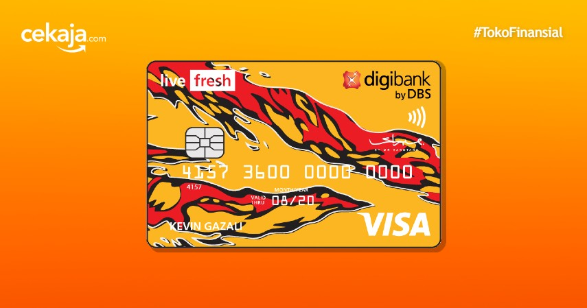 Review Kartu Kredit Digibank Live Fresh, Pemburu Cashback Wajib Tahu!