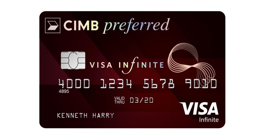 CIMB Niaga Preferred Visa Infinite - 5 Jenis Kartu Kredit CIMB Niaga Premium