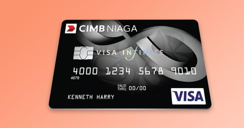 CIMB Niaga Visa Infinite - 5 Jenis Kartu Kredit CIMB Niaga Premium