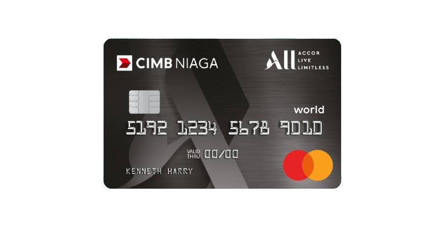 CIMB Niaga World All Accor Live Limitless - 5 Jenis Kartu Kredit CIMB Niaga Premium