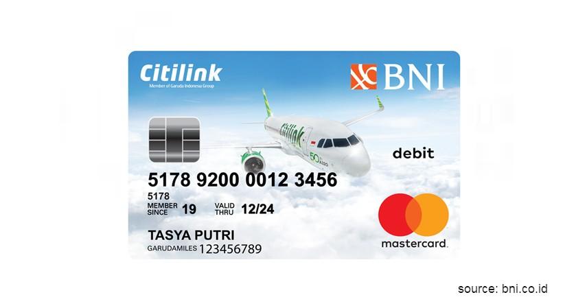 Debit BNI Citilink - Jenis-Jenis Kartu Debit BNI