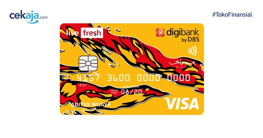 Keuntungan Belanja Kebutuhan Lebaran dengan Kartu Kredit Digibank Live Fresh
