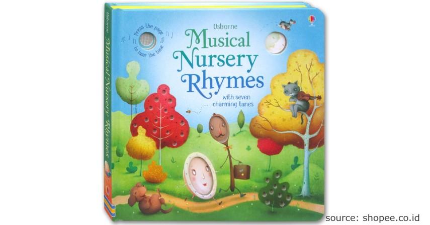Musical Nursery Rhymes with Seven Charming Tunes - 10 Rekomendasi Buku Cerita Terbaik untuk Anak