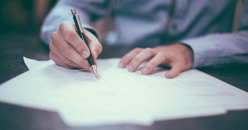 Seputar - Cara Membuat Surat Perjanjian Jual Beli