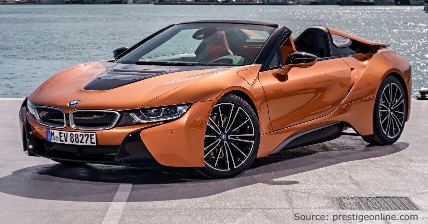 BMW i8 Roadster - 6 Mobil Hybrid Terbaik di Indonesia