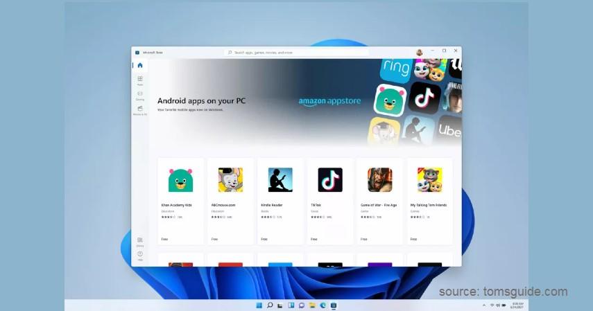 Microsoft Store - Fitur Terbaru Windows 11