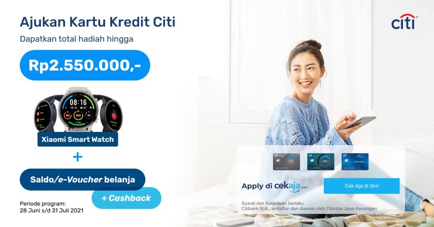 Promo Citibank Bring The Smartwatch, Hadiahnya Bikin Ngiler!