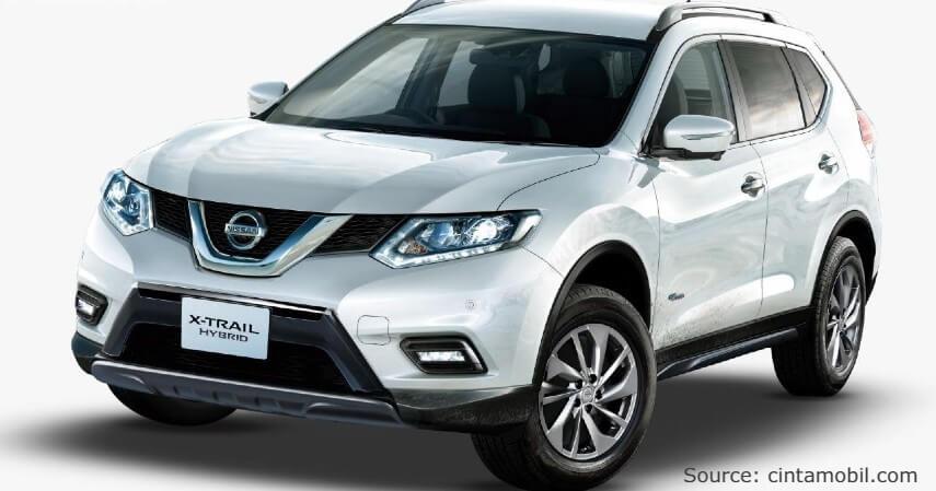 Nissan X-Trail Hybrid - 6 Mobil Hybrid Terbaik di Indonesia