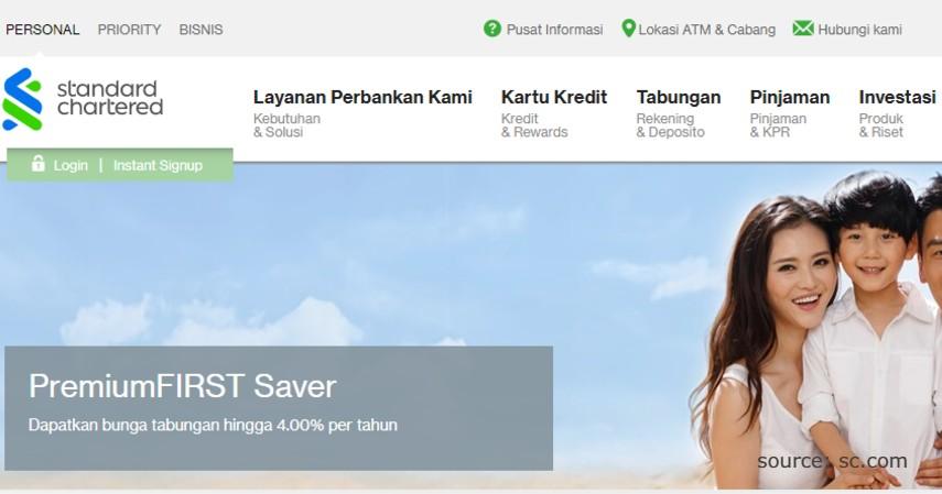 PremiumFIRST Saver - Produk Tabungan Standard Chartered Bank