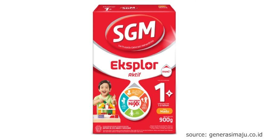 SGM Eksplor 1+ - 10 Merk Susu Formula Bayi Terbaik